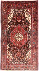 Nahavand Teppe 168X312 Ekte Orientalsk Håndknyttet Mørk Rød (Ull, Persia/Iran)