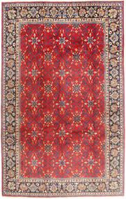Najafabad Teppe 197X307 Ekte Orientalsk Håndknyttet Rust/Mørk Brun (Ull, Persia/Iran)