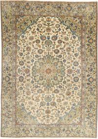 Najafabad Patina Teppe 187X265 Ekte Orientalsk Håndknyttet Lysbrun/Lys Grå (Ull, Persia/Iran)