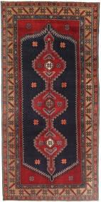 Sarab Patina Teppe 150X310 Ekte Orientalsk Håndknyttet Teppeløpere Mørk Rød/Mørk Grå (Ull, Persia/Iran)