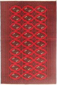 Turkaman Patina Teppe 126X190 Ekte Orientalsk Håndknyttet Mørk Rød/Rød (Ull, Persia/Iran)