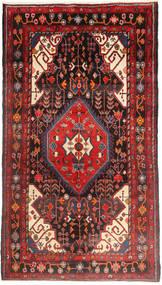 Nahavand Teppe 160X290 Ekte Orientalsk Håndknyttet Mørk Brun/Mørk Rød (Ull, Persia/Iran)