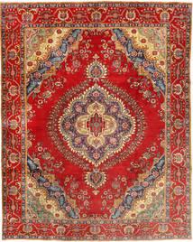 Tabriz Teppe 300X378 Ekte Orientalsk Håndknyttet Rust/Brun Stort (Ull, Persia/Iran)
