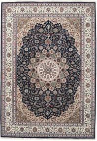 Nain Indisk Teppe 250X355 Ekte Orientalsk Håndknyttet Lys Grå/Mørk Grå Stort ( India)