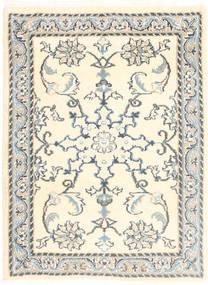 Nain Teppe 60X90 Ekte Orientalsk Håndknyttet Beige/Lys Grå (Ull, Persia/Iran)