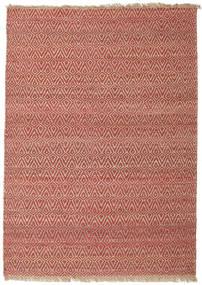 Jaque Jute Teppe 170X240 Ekte Moderne Håndvevd Mørk Rød/Brun ( India)