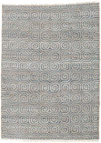 Utendørsteppe Thar Jute Teppe 170X240 Ekte Moderne Håndvevd Lys Grå/Blå (Juteteppe India)