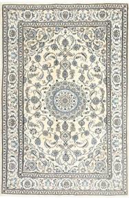 Nain Teppe 195X300 Ekte Orientalsk Håndknyttet Beige/Lys Grå/Mørk Grå (Ull, Persia/Iran)