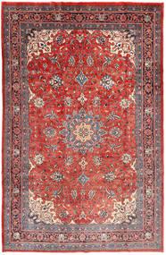 Mahal Teppe 206X307 Ekte Orientalsk Håndknyttet Rust/Mørk Rød (Ull, Persia/Iran)