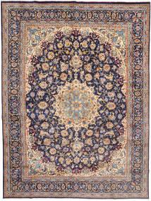 Najafabad Teppe 295X398 Ekte Orientalsk Håndknyttet Lys Grå/Mørk Lilla Stort (Ull, Persia/Iran)