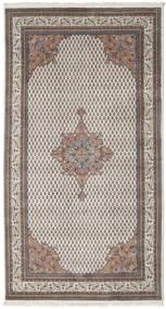 Mir Indisk Teppe 152X284 Ekte Orientalsk Håndknyttet Lys Grå/Mørk Grå (Ull, India)