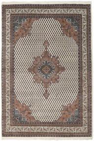 Mir Indisk Teppe 166X230 Ekte Orientalsk Håndknyttet Lys Grå/Mørk Brun (Ull, India)