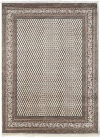 Mir Indisk Teppe 205X305 Ekte Orientalsk Håndknyttet Lys Grå (Ull, India)