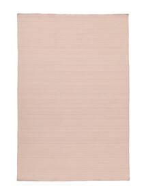 Kelim Loom - Misty Pink Teppe 140X200 Ekte Moderne Håndvevd Lyserosa (Ull, India)