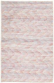Kelim Indisk Teppe 75X120 Ekte Moderne Håndvevd Lyserosa/Lys Grå (Ull, India)