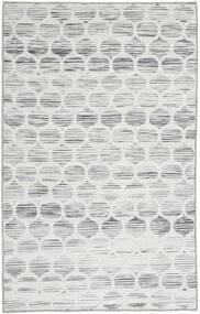 Jakart Kelim Teppe 75X122 Ekte Moderne Håndvevd Lys Grå/Beige (Ull, India)