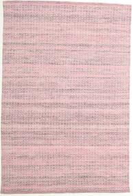 Alva - Pink/Vit Teppe 160X230 Ekte Moderne Håndvevd Lyserosa/Lyselilla (Ull, India)