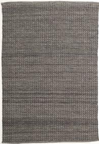 Alva - Brun/Svart Teppe 160X230 Ekte Moderne Håndvevd Mørk Grå/Lys Grå (Ull, India)