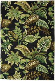 Jungel - Grønn/Svart Teppe 200X300 Moderne Mørk Grønn/Olivengrønn (Ull, India)