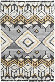 Deco Teppe 160X230 Ekte Moderne Håndvevd Lys Grå/Mørk Beige (Ull, India)