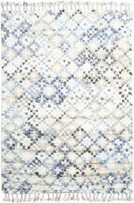 Greta Teppe 160X230 Ekte Moderne Håndknyttet Hvit/Creme/Beige (Ull, India)
