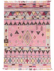 Fanny Teppe 200X300 Ekte Moderne Håndknyttet Lyserosa/Lys Grå (Ull, India)