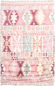 Märta - Pink Teppe 200X300 Ekte Moderne Håndknyttet Lyserosa/Beige (Ull, India)