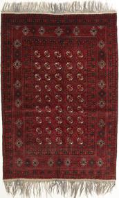 Afghan Khal Mohammadi Teppe 132X182 Ekte Orientalsk Håndknyttet Mørk Rød/Lys Grå (Ull, Afghanistan)