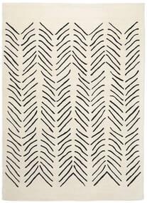 Scandic Lines - 2018 Teppe 160X230 Moderne Beige/Mørk Grå (Ull, India)