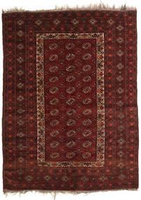 Afghan Khal Mohammadi Teppe 137X181 Ekte Orientalsk Håndknyttet Mørk Rød/Mørk Brun (Ull, Afghanistan)