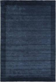 Handloom Frame - Mørk Blå Teppe 300X400 Moderne Mørk Blå/Blå Stort (Ull, India)