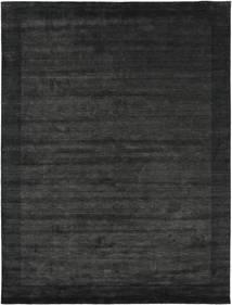 Handloom Frame - Svart/Mørk Grå Teppe 300X400 Moderne Mørk Grå/Mørk Grønn Stort (Ull, India)