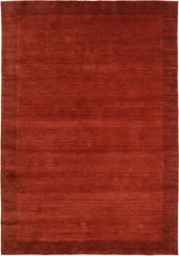 Handloom Frame - Rust Teppe 160X230 Moderne Rust/Rød (Ull, India)