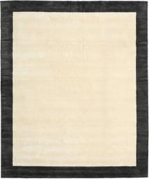 Handloom Frame - Svart/Vit Teppe 250X300 Moderne Beige/Mørk Grå Stort (Ull, India)