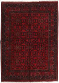 Afghan Khal Mohammadi Teppe 175X238 Ekte Orientalsk Håndknyttet Mørk Rød (Ull, Afghanistan)