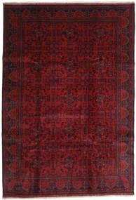 Afghan Khal Mohammadi Teppe 203X292 Ekte Orientalsk Håndknyttet Mørk Rød/Rød (Ull, Afghanistan)