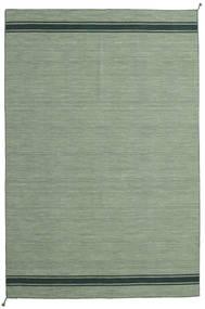 Ernst - Grønn/Mørk _Green Teppe 250X350 Ekte Moderne Håndvevd Olivengrønn/Lysgrønn/Pastell Grønn Stort (Ull, India)