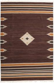 Tribal - Brun Teppe 200X300 Ekte Moderne Håndvevd Mørk Brun (Ull, India)