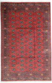 Pakistan Bokhara 3Ply Teppe 200X312 Ekte Orientalsk Håndknyttet Mørk Rød/Mørk Brun (Ull, Pakistan)