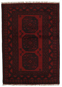 Afghan Teppe 94X141 Ekte Orientalsk Håndknyttet (Ull, Afghanistan)
