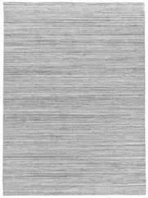 Petra - Light_Mix Teppe 140X200 Ekte Moderne Håndvevd Lys Grå/Hvit/Creme ( India)