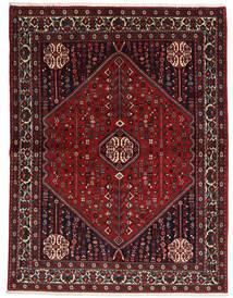 Abadeh Sherkat Farsh Teppe 155X204 Ekte Orientalsk Håndknyttet Mørk Rød/Svart (Ull, Persia/Iran)
