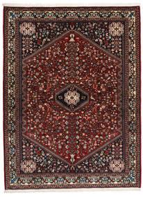Abadeh Sherkat Farsh Teppe 155X208 Ekte Orientalsk Håndknyttet Mørk Rød/Mørk Brun (Ull, Persia/Iran)