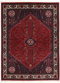 Abadeh Sherkat Farsh Teppe 154X202 Ekte Orientalsk Håndknyttet Svart/Mørk Rød (Ull, Persia/Iran)