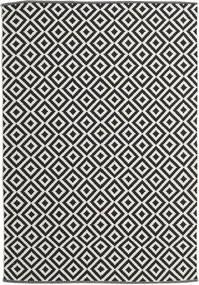 Torun - Svart/Neutral Teppe 170X240 Ekte Moderne Håndvevd Svart/Mørk Beige (Bomull, India)
