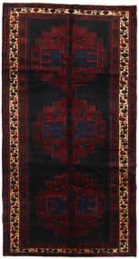 Saveh Teppe 152X288 Ekte Orientalsk Håndknyttet Teppeløpere Mørk Rød (Ull, Persia/Iran)