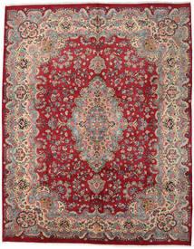 Mashad Teppe 294X374 Ekte Orientalsk Håndknyttet Mørk Rød/Rød Stort (Ull, Persia/Iran)