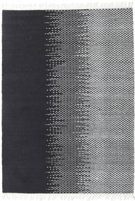 Sixten Teppe 170X240 Ekte Moderne Håndvevd Mørk Grå/Hvit/Creme ( India)