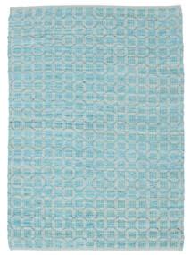 Elna - Bright_Blue Teppe 170X240 Ekte Moderne Håndvevd Lys Blå/Turkis Blå (Bomull, India)