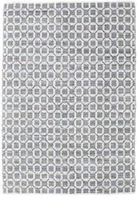 Elna - Grå Teppe 200X300 Ekte Moderne Håndvevd Lys Grå/Hvit/Creme (Bomull, India)